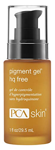 PCA SKIN HQ-Free Pigment Gel, Discoloration Spot Treatment Serum, 1 fluid ounce