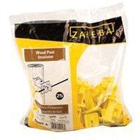 Woodpost Yellow Insulator Nail