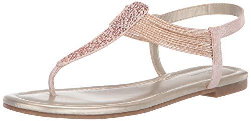 Bandolino Women's KAYTE Flat Sandal, Rose, 8.5 Medium ()