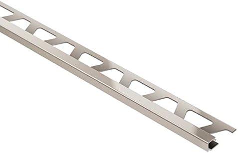 GS Schluter QUADEC Square Edge Tile Edging Trim 1//2, Black