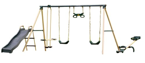Flexible Flyer Backyard Fun Plays Swing Set Competitive Edge Products