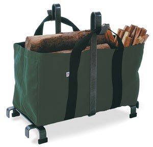Enclume Carrier Bag Log Rack, Hammered Steel by Enclume Hearth