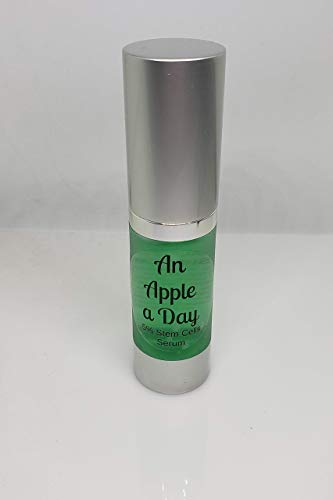 5% APPLE STEM CELLS SERUM | Boosted with Hyaluronic Acid for Maximum Hydration and Anti Aging. | All Natural VEGAN Serum | Wrinkle Free Skin | VEGAN | Herbalist Made | Revitalizes Dry Skin