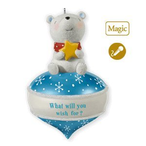 1 X What Will You Wish For 2010 Hallmark Ornament - QXG3146 by Hallmark Keepsakes