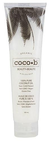 Prairie Naturals Coco-B 100% Organic Pure Coconut Oil, 3.4 Fluid Ounce