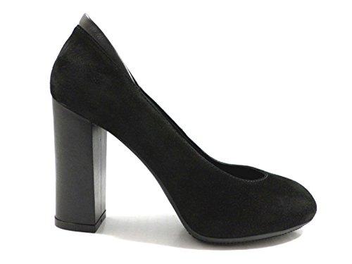 scarpe donna HOGAN decolte nero camoscio az145
