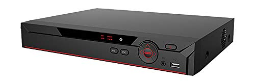 Q1C1 32 CH Channel 5-in-1: 16 Channel CVI/TVI/AHD/960H DVR and 16 Channel ONVIF NVR, Support Up to 8MP 4K Cameras, Intelligent Analysis, H.265+ Security Video Recorder