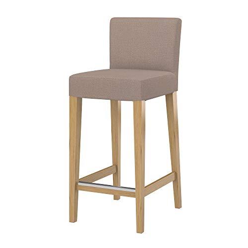 Soferia Funda Adicional IKEA HENRIKSDAL Taburete Bar con Respaldo