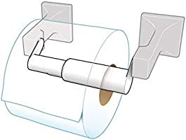 Amazon Com Teravan Standard Extender For Extra Large Toilet Paper Rolls Extend The Size Of Your Tissue Paper Roll Holders Easy Installation Fits Most Standard Toilet Roll Holders Set Of