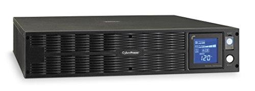 CyberPower PR1000LCDRTXL2Ua Smart App Sinewave UPS System, 1000VA/700W, 8 Outlets, AVR, 2U Rack/Tower -