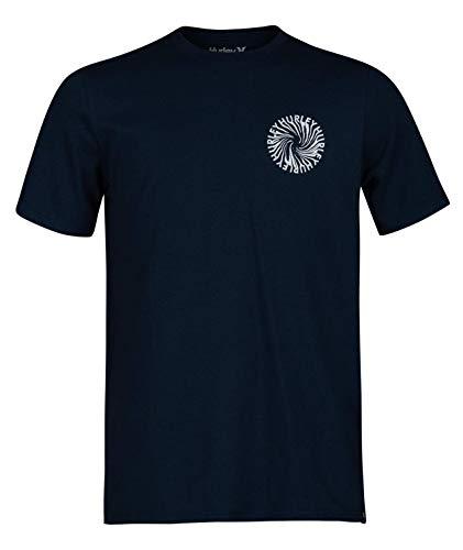 Hurley Boys B Wormhole Tee T-Shirt, Armory Navy, M