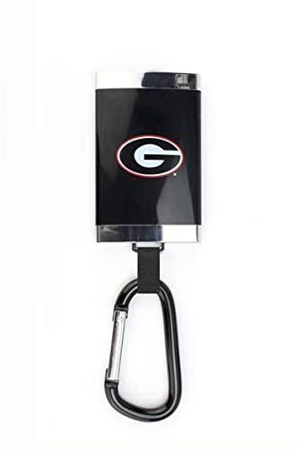 AES Georgia Bulldogs Carabiner Battery Backup