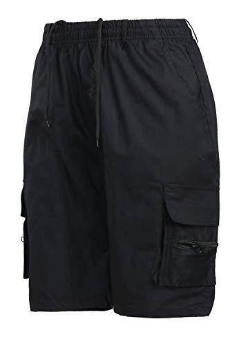 Spiaggia Pantaloncini Pantaloni Causale Elasticizzati Tasche Uomini Gli Black Sono Estate Simgahuva nBwxHTqw