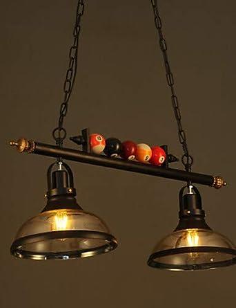 lámpara de araña de cristal de Arte Retro nórdicos restaurante bar ...