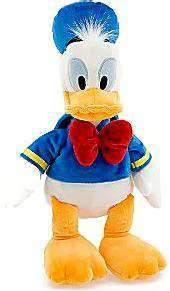 Disney's Donald Duck Plush - Mini Bean Bag - 9 1/2''