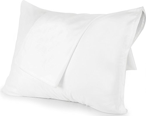 Utopia Bedding Microfiber Zippered Pillowcase  20 by 40 inch