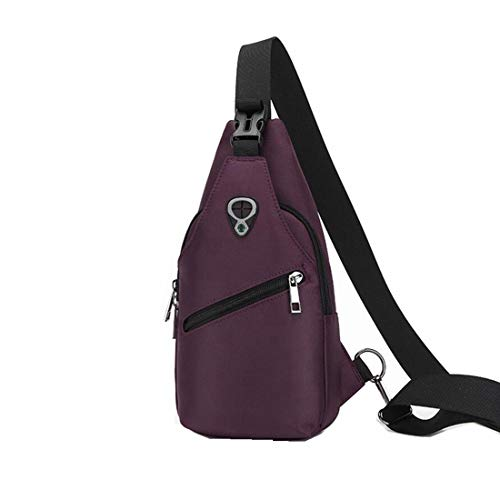 Purple Sac Imperméable Pour À Dos L'eau Hommes Bandoulière Honneury ZFBq68wwp