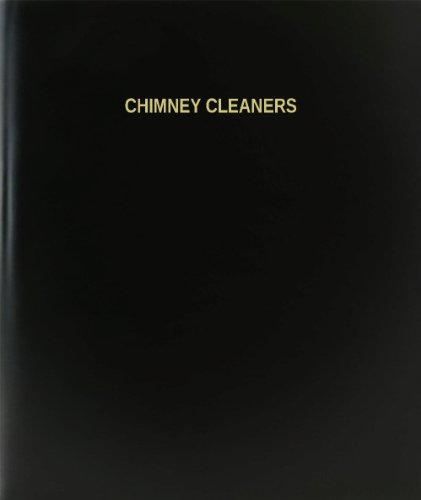 BookFactory® Chimney Cleaners Log Book / Journal / Logbook - 120 Page, 8.5