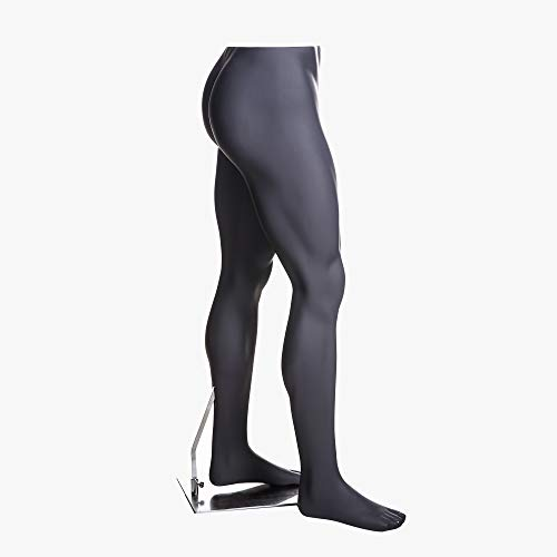 (MZ-HEF16LEG) High end Quality. Eye Catching Male Headless Mannequin Leg, Athletic Style. Standing Pose. by Roxy Display (Image #3)