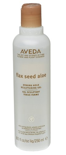 Flax Seed Aloe - Aveda Flax Seed Aloe Strong Hold Sculpturing Gel, 8.5-Ounce Bottles (Pack of 2)