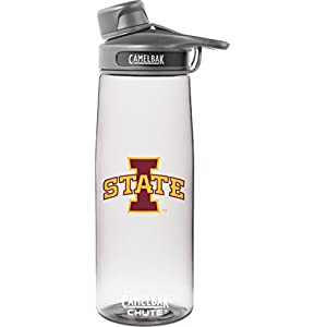NCAA Iowa State Cyclones Chute Collegiate, 0.75 L, Clear