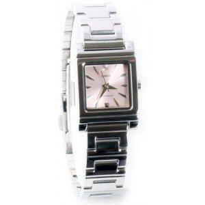 Square Metal Watch - Casio General Ladies Watches Metal Fashion LTP-1237D-4A2DF - 4