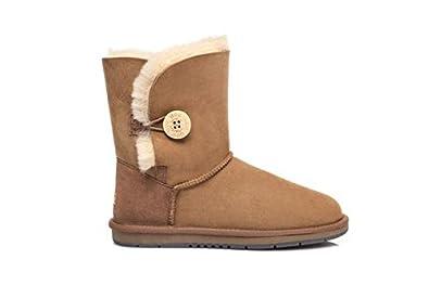 9db14b4b9c Australian Shepherd Water Resistant Ladies Short Button UGG Boots AU Women  10   Men 8