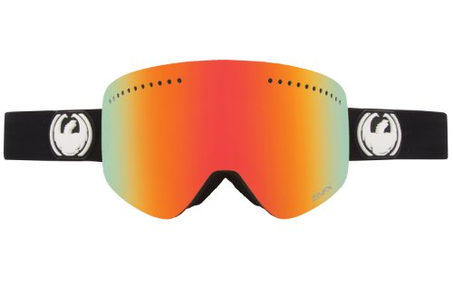 Dragon Alliance NFX Ski Goggles, Inverse/Red Ion + Yellow Blue - Nfx Goggles Dragon