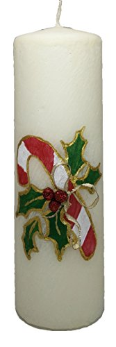 Christmas Made in America - handmade, Christmas Candle, D...