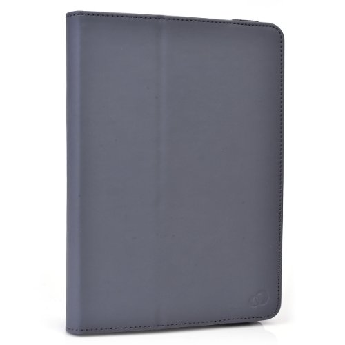 """RCA Pro 10 Edition Folio Case Cover Stand with Soft Grip Clips - Universal Style fits Most 10"""" Devices 