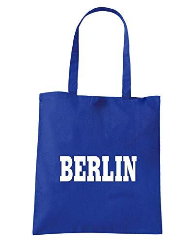 Borsa Shopper Royal Blu WC0822 BERLIN GERMANY CITY
