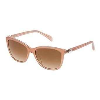TOUS STO885T-553GTG, Montures de Lunettes Femme, (Shiny Dark Pink), 55
