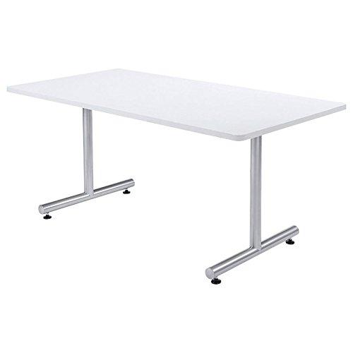 ミーティングテーブル MTS 角形幅1500×奥行き750mm カラー:ライトグレー B00AFJCCKW ライトグレー ライトグレー