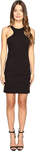 DSQUARED2 Women's Compact Cotton Jersey Tank Dress Black (Dsquared2 Womens Clothing)