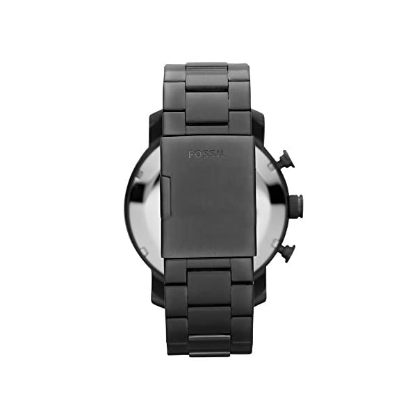 Stainless Steel Quartz Chronograph Watch