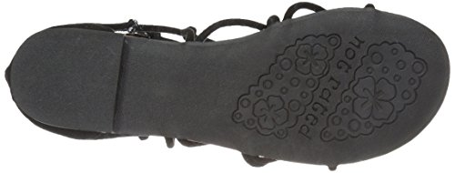 Black Sandal Not Genevie Rated Gladiator Women's ErXvfnqX