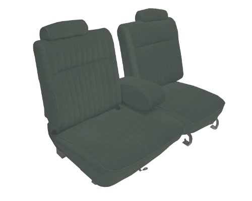 Acme U2003L-RE630 Front Smoke Leather Bench Seat Upholstery