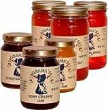 Spiced Golden Peach Jam 9.6 ounce