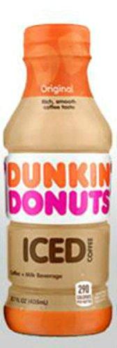 Dunkin Donuts Bottled Ice Coffee (Original)