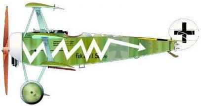Eduard EDK8487 Kit 1:48 Weekend-Fokker Dr.I Plastic Model