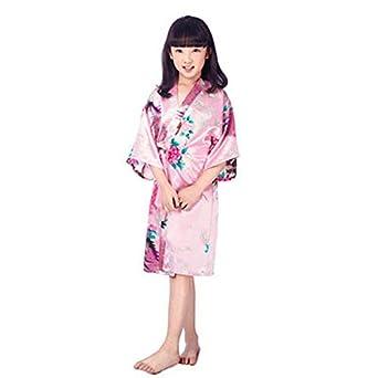3131948b5e7a7 Amazon.com: Flower Wedding Belt: 11colors 80-160cm Baby Girl Kimono ...