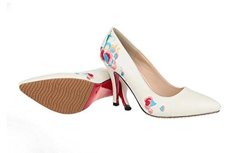 Kirjailtu Korkokengät Kenkä Dandanjie Naisten Tyyliin Kengät Stiletto Etnisten Keväällä qxtFOC8w