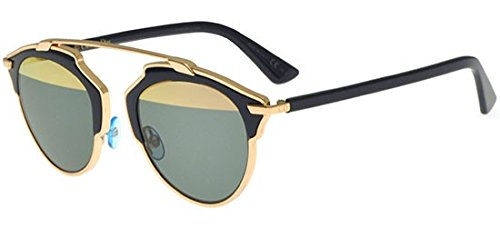 Dior Women CD SOREAL/S 48 Gold/Gold Sunglasses ()