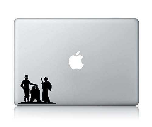 Princess Leia C-3PO And R2-D2 Star Wars Apple Macbook Laptop