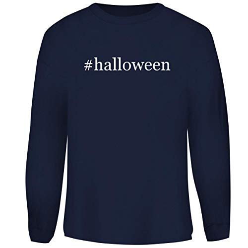 One Legging it Around #Halloween - Hashtag Men's Funny Soft Adult Crewneck Sweasthirt, Navy, XX-Large]()