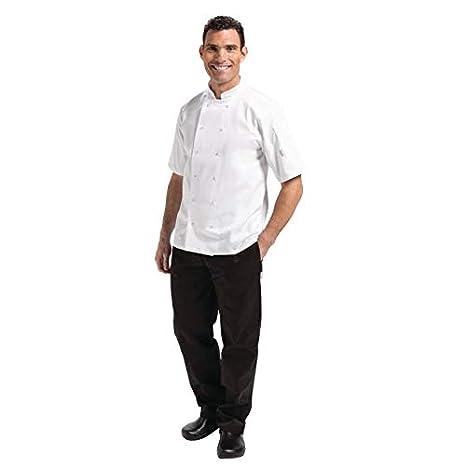 Whites Chefs Apparel a211-xs Whites Vegas Chefs Jacket XS manica corta