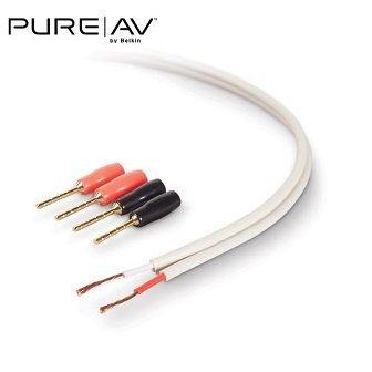 Belkin PureAV 16-Gauge Lautsprecherkabel und Stecker: Amazon.de ...