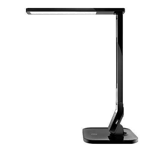 TaoTronics LED Desk Lamp with USB Charging Port, 4 Lighting...