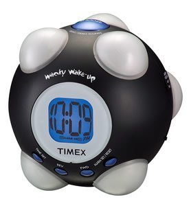 Wacky Phrases Shake N Wake alarm clock