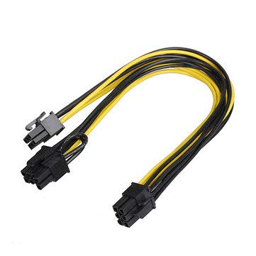 6 PIN Graphics Card Cable for EXP GDC Beast Laptop External Independent Video Card Dock - Computer Components PCI Cards ()